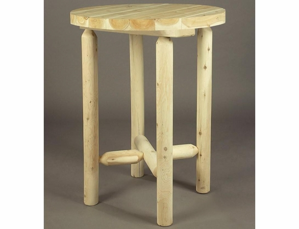 """32""""Log Style Bistro Table"""