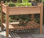"33"" EZ Plant Cedar Elevated Garden Planter"