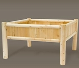 4' Square Raied Garden Planter - Closeout Pricing!