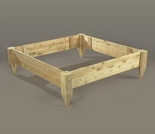 4' x 4' Raised Garden Bed - Closeout Pricing!