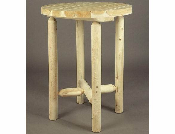 """42"""" Log Style Bistro Table"""