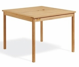 "Oxford Garden 42"" Square Shorea Dining Table - Additional Spring Discounts"