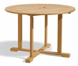 "Oxford Garden 48"" Round Shorea Dining Table - Additional Spring Discounts"