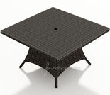 "48"" Sqaure Wicker Forever Patio Capistrano Dining Table"