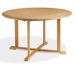 "Oxford Garden 67"" Round Shorea Dining Table - Additional Spring Discounts"