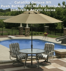 9' Octagon Catalina Market Umbrella