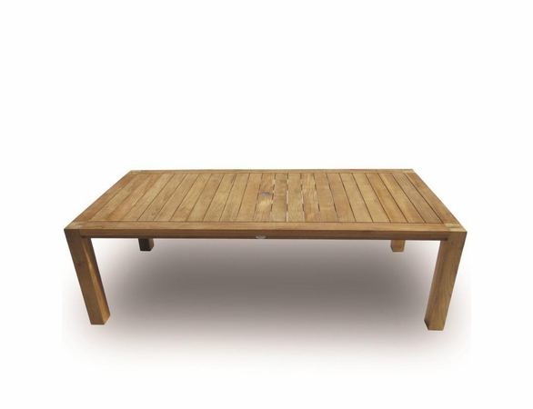 """Royal Teak 96"""" Comfort Dining Table - Back in Stock End of July"""
