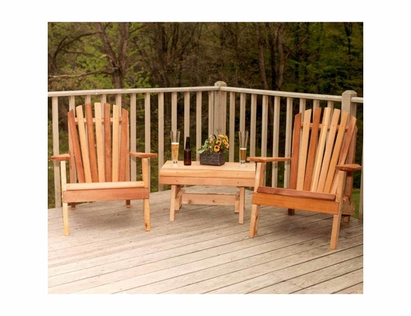 Adirondack Chair Collection - Cedar American Forest