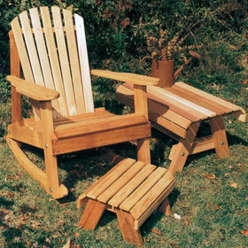 Adirondack Rocker Collection - Cedar American Forest