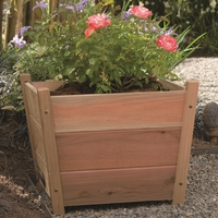 Alta Square Cedar Planter - Order Now! - Unavailable after August 29
