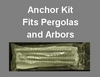 Anchor Kit for Arbors and Pergolas