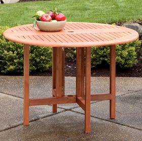 Arboria Celebration Drop Leaf Round Table