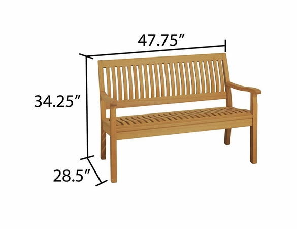 Arboria Serenity 4' Bench - Soon to be Discontinued