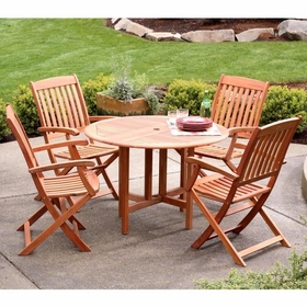 Arboria Spontaneity Armchair Patio Dining Set