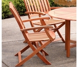 Arboria Spontaneity Folding Arm Chair - Set of 2