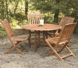 Arboria Spontaneity Side Chair Patio Dining Set