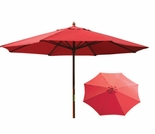 Autumn Red 9 Ft Market Umbrella