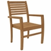 Avant Teak Stacking Chair