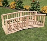 Baluster Garden Bridge - Multiple Lengths
