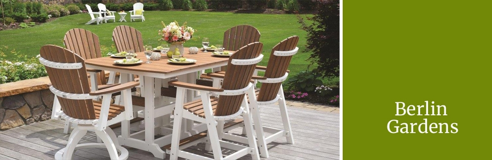 Berlin Gardens Is A Respected Outdoor Furniture Company That Uses Traditional Amish Craftsmanship Techniques To Create All Of Its High Quality