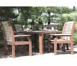Berlin Gardens Classic Terrace 6 Seat Homestead Dining Set