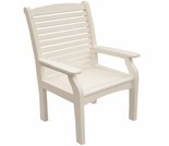 Berlin Gardens Classic Terrace Homestead Dining Arm Chair