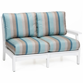 Berlin Gardens Classic Terrace Left Arm Sectional Loveseat