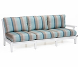 Berlin Gardens Classic Terrace Left Arm Sectional Sofa