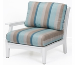 Berlin Gardens Classic Terrace Right Arm Sectional Club Chair