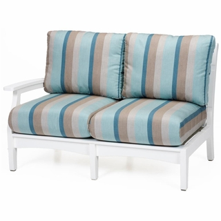Superbe Berlin Gardens Classic Terrace Right Arm Sectional Loveseat