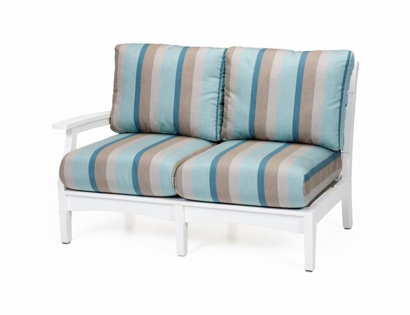 Berlin Gardens Classic Terrace Right Arm Sectional Loveseat