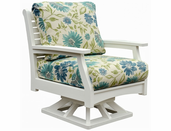 Berlin Gardens Classic Terrace Swivel Rocker Lounge Set