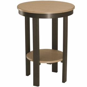 """Berlin Gardens Resin 22"""" Round Counter Height End Table"""