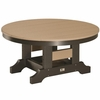 "Berlin Gardens Resin 38"" Round Coversation Table"