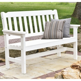 berlin gardens resin 4 traditional garden bench - Garden Furniture Traditional
