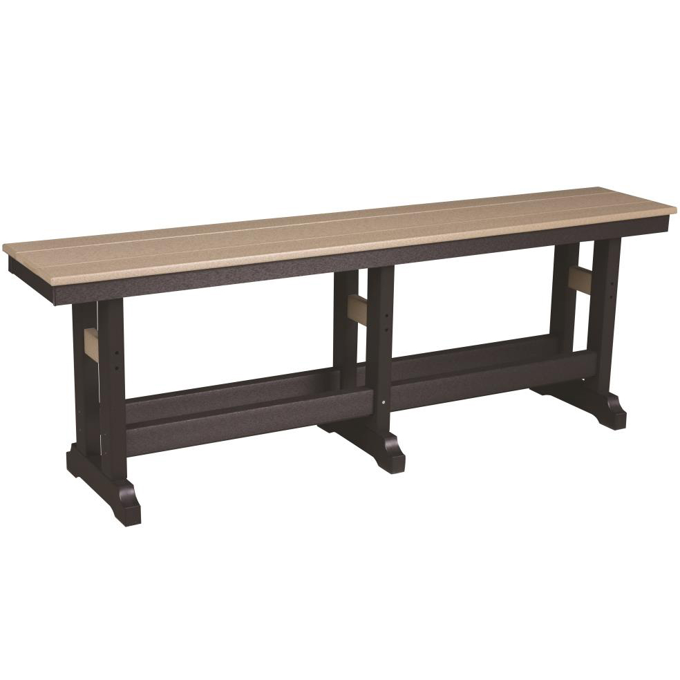 Berlin Gardens Comfo Back 6 Seat Counter Set Bench