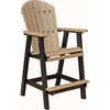 Berlin Gardens Resin Comfo-Back Bar Chair