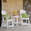 Berlin Gardens Resin Comfo-Back Counter Height Patio Set