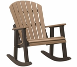 Berlin Gardens Resin Comfo-Back Rocking Chair