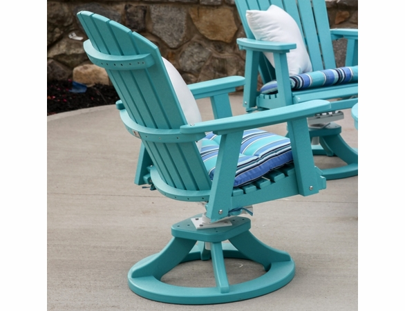 Berlin Gardens Resin Comfo-Back Swivel Rocker Chat Set