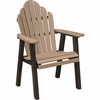 Berlin Gardens Resin Cozi-Back Dining Chair