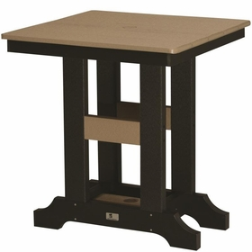 """Berlin Gardens Resin Garden Classic 28"""" Square Dining Table"""