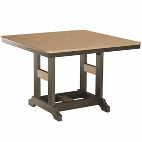"""Berlin Gardens Resin Garden Classic 44"""" Square Dining Table"""