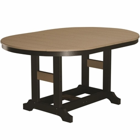 "Berlin Gardens Resin Garden Classic 44"" x 64"" Oblong Dining Table"