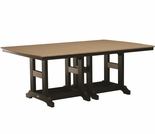 "Berlin Gardens Resin Garden Classic 44"" x 72"" Rectangular Dining Table"