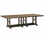 "Berlin Gardens Resin Garden Classic 44"" x 96"" Rectangular Dining Table"