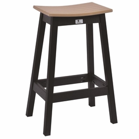 Berlin Gardens Saddle Seat Bar Stool