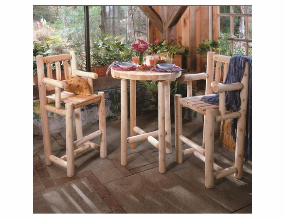 """Bistro 32"""" Table and Stool Set"""