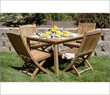 Three Birds Brunswick 4 Person Dining Set