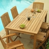 Three Birds Brunswick 6 Person Dining Set